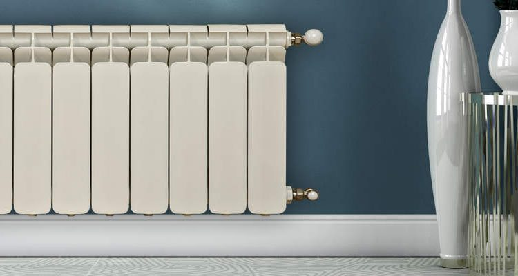 radiator on wall
