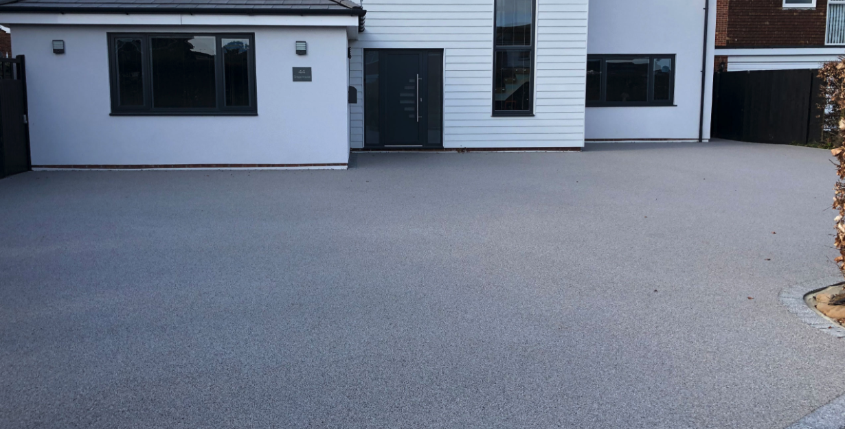resin driveway compared