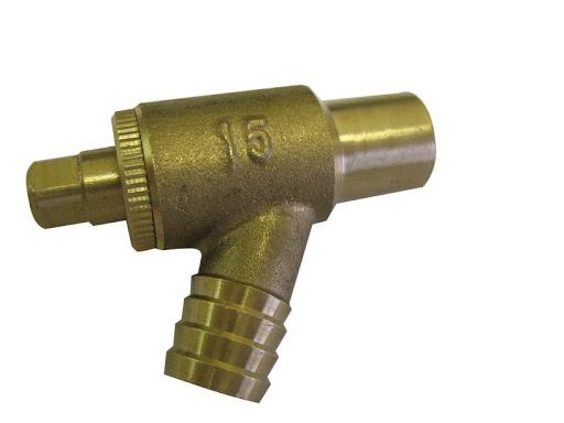 central heating drain valve